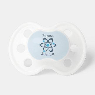Blaues Atom-zukünftiger Schnuller