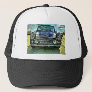 Blaues Austin Mini Truckerkappe