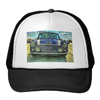 Blaues Austin Mini Truckermütze
