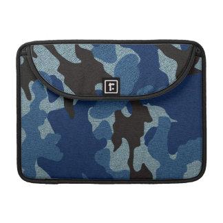 Blaues Camouflage-Militär 13 Zoll Macbook Sleeve Für MacBooks