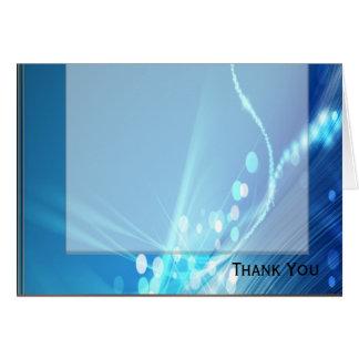 Blaues Eis Mitteilungskarte
