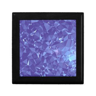 Blaues Frost Geschenkbox