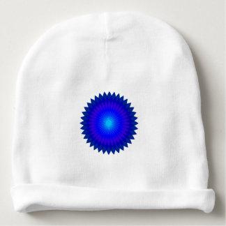 Blaues Geo Babymütze