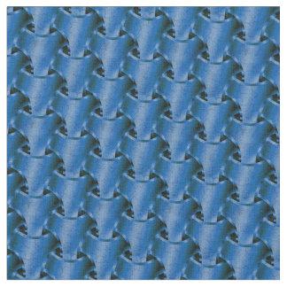Blaues Kettenhemd Stoff