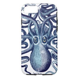 Blaues Kraken-Seeungeheuer iPhone 8/7 Hülle