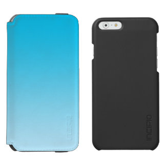 Blaues Ombre Incipio Watson™ iPhone 6 Geldbörsen Hülle