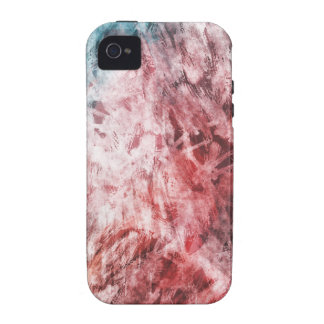 Blaues Rot TPD iPhone 4/4S Case