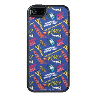 Blaues und rotes Kriegsgefangen! OtterBox iPhone 5/5s/SE Hülle