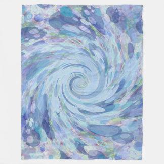 Blaues Wasser-Decke Fleecedecke