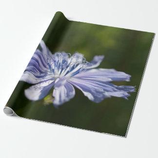 "Blaues Wildblume-Verpackungs-Papier, 30"" x 6' Geschenkpapier"