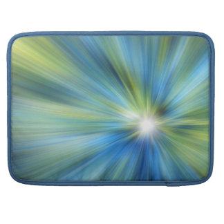 Blaugrüne EXPLOSION Macbook Prohülse Sleeves Für MacBook Pro