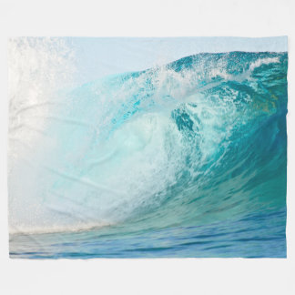 Blauwelle des pazifischen Ozeans, die Fleecedecke