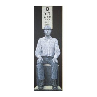 Blinde Stelle 1978 Gespannte Galeriedrucke