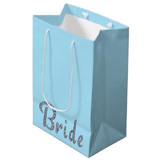 Bling Geschenktasche der Braut Medium Geschenktüte