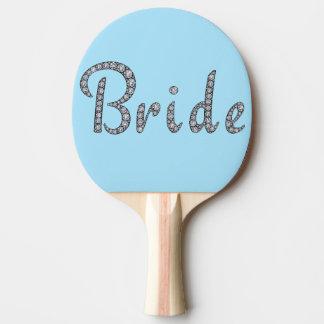 Bling Paddel pong Klingeln der Braut Tischtennis Schläger