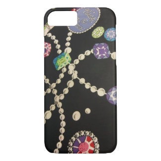 Bling und Perlen iPhone 8/7 Hülle
