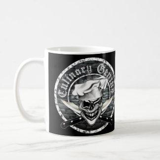 Blinzeln des Kochs-Schädels Kaffeetasse