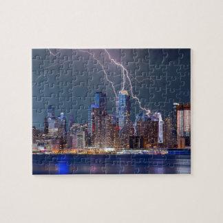 Blitzsturm über New York Puzzle