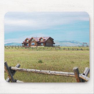 Blockhaus in Colorado Mousepad