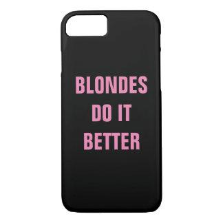 Blondinen verbessert es iPhone 8/7 hülle