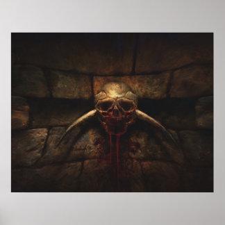 Bloodthirst - Kerker-Horrordruck Poster