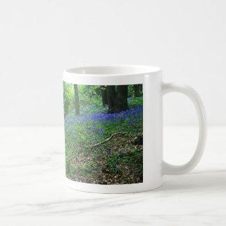 Bluebell-Holz Kaffeetasse