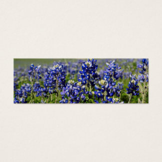 Bluebonnet-Blume Mini-Visitenkarten