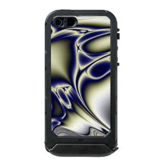 Blühendes blaues Fraktal Incipio ATLAS ID™ iPhone 5 Hülle
