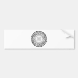 Blume der Leben-Explosion Auto Sticker