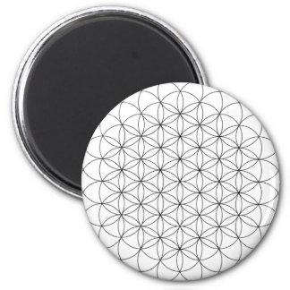 Blume des Leben-Magneten Kühlschrankmagnete