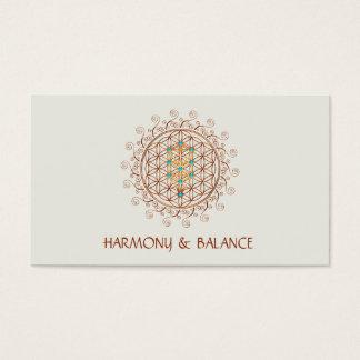Blume des Lebens, Baum des Lebens, Kabbalah, Visitenkarten