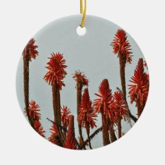 Blume Keramik Ornament