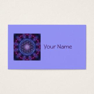 BLUME LIFE/Blume DES Lebens Quadrats des Visitenkarten