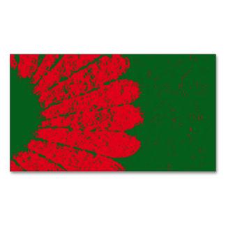 Blume Magnetische Visitenkarten