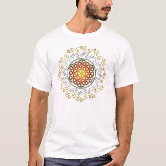 Blume von Leben-/Blume-DES Lebens - Verzierung IV T-Shirt