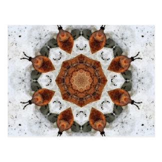 BlumeMandala Postkarte