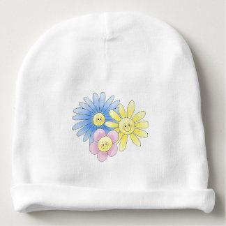 Blumen Babymütze