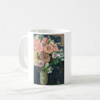 Blumen-Blumenstrauß-Kaffee-Tasse Tasse