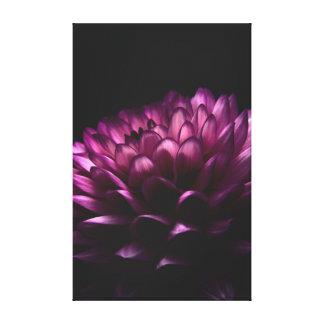 Blumen-Dahlie Gespannter Galeriedruck