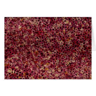 Blumen der leeren Gruß-Karte Edens Karte