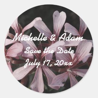 Blumen, die Aufkleber Wedding sind