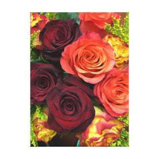 Blumen die letzt für immer leinwanddruck