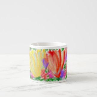 Blumen Espresso-Tassen
