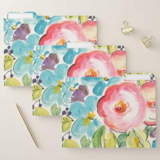 Blumen-Freude II Papiermappe