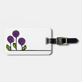 Blumen-Gepäck-Umbau Kofferanhänger