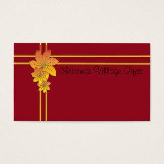 Blumen-Geschenk Visitenkarten