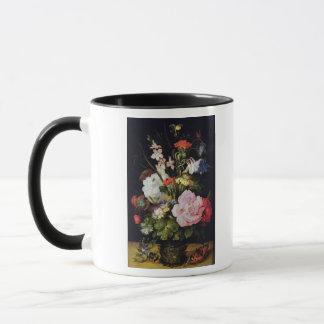 Blumen in einem Vase Tasse