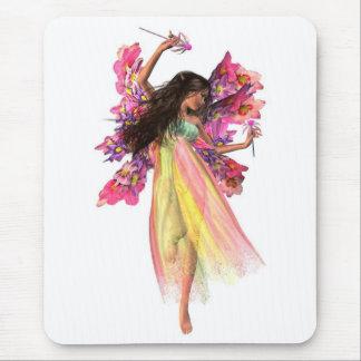 Blumen-Karnevals-Fee Mauspad