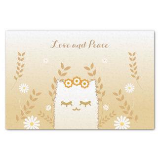 Blumen-KatzenSeidenpapier Seidenpapier
