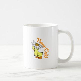 Blumen-Kind Kaffeetasse
